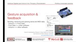 Actos en Vivo: Gesture Acquisition & Feedback (2/3)